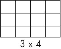 Fachabmessung 3x4