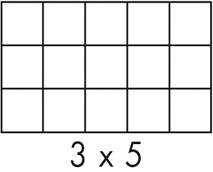 Fachabmessung 3x5